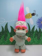 "Surgeon / Doctor - 5"" Russ Troll Doll - New In Original Wrapper - Pink Hair"