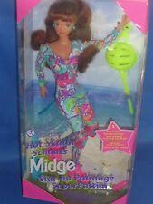 【ツ】NRFB 90-er Jahre Hot Skatin ` Midge Barbie Roller Skates + Schlittschuhe 1994