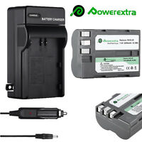 EN-EL3e Replace Battery + Charger For Nikon D90 D200 D300S D700 D80 D70 D50 D70S