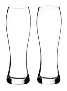 Waterford Elegance Lager Beer Glass 19.6 Oz Set of 2 #188