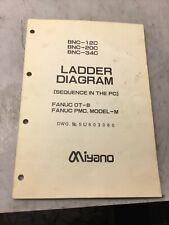 Miyano Bnc-12C / Bnc-20C / Bnc-34C Ladder Diagram, Dwg 5U803060, Used