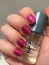 *Reduced* Half Sheet of Jamberry Nail Wraps - Fierce Fuchsia. Pink Sparkle