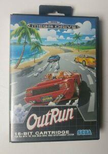 Outrun Sega Megadrive Game Complete