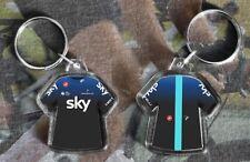 TEAM SKY t-shirt / jersey keyring cycling, Tour de France orca 2019