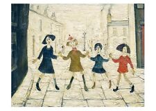 L S Lowry - Children Playing - MEDICI POSTCARDS
