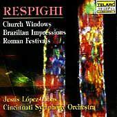 CINCINNATI SYMPHONY - LOPEZ-COBOS - RESPIGHI: CHURCH WINDOWS & -CD-NEW