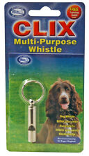 Clix Multi-Purpose Whistle - For Pet Dog Owner or Professional Trainer