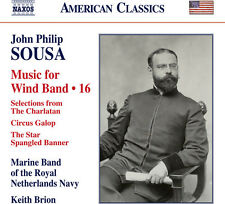 Sousa / Brion - John Philip Sousa: Music for Wind Band, Vol. 16 [New CD]
