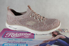 Skechers Ladies Slippers Sneakers Low Shoes Trainers Rose New