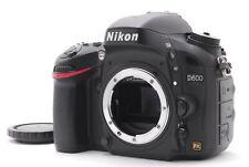 【Mint】Nikon D600 24.3MP Digital SLR Camera Black Body Only From Japan #789