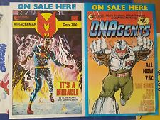 Miracleman by Alan Moore & Gary Leach Eclipse Comics Promo Poster 1985
