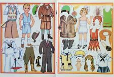 The Roaring Twenties Magazine Paper Doll,1987, By Loraine Morris