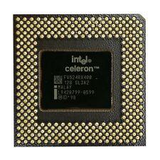 Intel Celeron 400MHz (Mendocino) CPU mit Kühler Cooler Socket PPGA 370 66MHz FSB