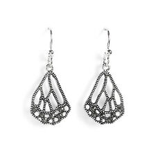 Jody Coyote Earrings JC78 new Mariposa Collection MPA-0115-04  genuine marcasite