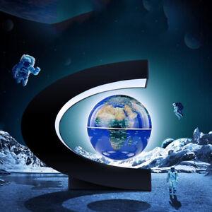 Magnetisch Schwimmende Weltkugel Coloful Lampe Anti Schwerkraft C Form Für Teens