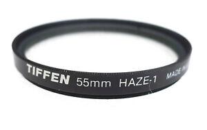 55mm Tiffen HAZE-1 UV Filter - Near PERFECT