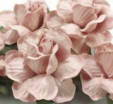 25 Blush Pink Paper Flowers Wedding Favour Headpiece Centerpiece Bouquet R40-122