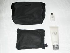 Qatar Airways Business Class Men Amenity Kit with Giorgio Armani products