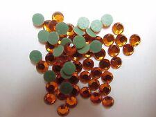 Rhinestone Hot Fix Iron on Heat Press Glass Stone SS16(4mm)Fireopal 1gr/144pcs