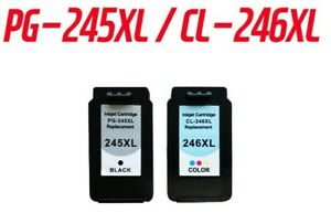Canon PG-245XL/CL-246XL Black and Tri-Color Replacement Ink Cartridge