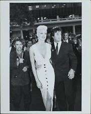 Sylvester Stallone, Bridgette Nielsen ORIGINAL PHOTO HOLLYWOOD Candid