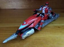 Power Rangers Operation Overdrive Red Hovertek Cycle & Ranger Action Figure 2007
