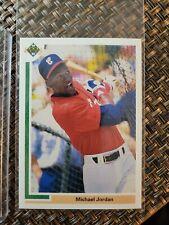 1991 Upper Deck (Rookie) Michael Jordan Chicago White Sox #SP1 Baseball Card