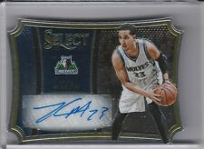 2014-15 PANINI SELECT #4 KEVIN MARTIN AUTOGRAPH DIE-CUT TIMBERWOLVES 20/25 5205
