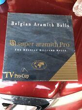 Super Aramith pool ball set