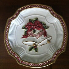 Fitz and Floyd Essentials Holiday Bells Christmas Cookie Plate 8�