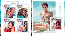 Sophia Loren Cinema Hollywood Kino Guinea-Bissau MNH stamp set