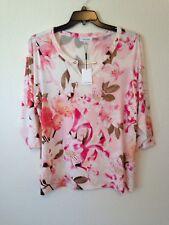 Calvin Klein womens plus STRETCH blouse shirt top pink sz 2X NEW $69.50 #B164