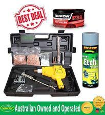 Stud Welder Dent Puller Bonus Kit for Car Body Repair Hunter 007 Filler and Etch