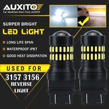 2X 3157 4157 4114 LED DRL Driving Daytime Running Light Bulbs 6000K White 48H EA