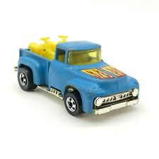 HOT WHEELS 1956 FORD Stepside Pick Up Truck with Motorcycles Blue HONG KONG