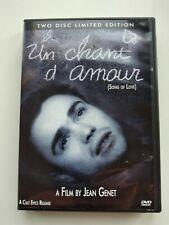 Un Chant D'Amour (DVD, 2003, Silent) 2 Disc Edition