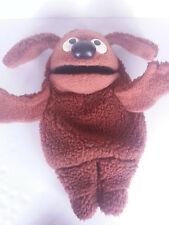 "Vintage 1977 Fisher Price ROWLF Muppet Doll Jim Henson 16"" Hand Puppet 852"