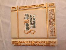 Disney Gallery Snow White and the Seven Dwarfs Treasure Box Replica Book LE 2500