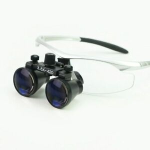 2.5X 3.5X Dental Loupe Binocular Magnifier Dentistry Surgical Operation Loupe