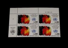 U.N.1990, Geneva #185, Fight Aids, Insc. Blk/4, Nice! Lqqk!
