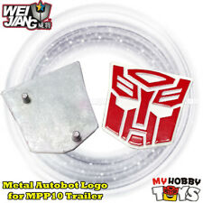 Transformers Accessories -2x Metal Autobot Logo /Symbol 4 WeiJiang MPP10 Trailer
