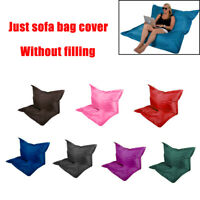 Large Bean Bag Chairs Couch Sofa Cover Case Indoor Lazy Lounger For Adults KIDS