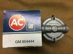 AC NOS fuel filter assembly, GM vehicles w/multiple carbs, GF48, GM854444, NIB