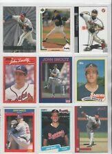 JOHN SMOLTZ Lot of 9 Cards w/ 1989 TOPPS  RC #382  & MORE (NM)  BRAVES  HOF