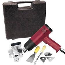 Heat Gun Kit 10 pcs 1500 Watt Dual Temperature (572°F/1112°F) Hot Air Gun Paint