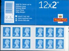 GB NEW 2020 M20L 12X2nd SBP2i CYLINDER PLAIN BOOKLET or SINGLE MACHIN DEFINITIVE