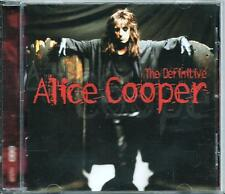 ALICE COOPER  *THE DEFINITIVE ALICE COOPER* 2001 COMPILATION CD LIKE NEW