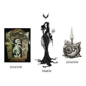 Skull Wizard Candle Metal Cutting Dies Stencil DIY Scrapbooking Album Stamp Card