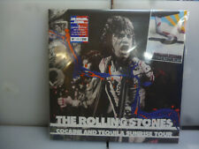 ROLLING STONES-COCAINE AND TEQUILA SUNRISE TOUR.USA1972-BLUE VINYL LP-NEW.SEALED