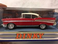 DINKY DY-2 CHEVROLET BEL AIR 1957 RED 1:43 RED MADE IN MACAU 1994 MATCHBOX